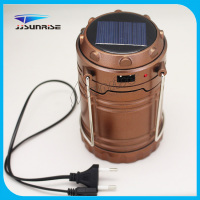 220v Bright LED Rechargeable Charging Solar Camping Lantern