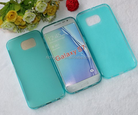 Wholesale New Candy color soft Clear TPU pudding Mobile Phone case for Samsung Galaxy S7 G930 G9300