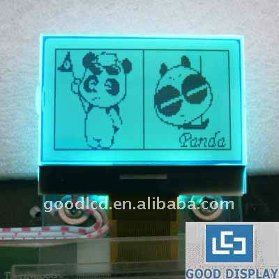 12864 dots FSTN Multi color COG lcd module