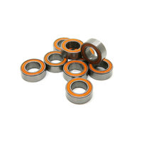 Orange sealing Abec7 top quality ceramic bearing for RC models RC car
