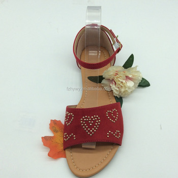 New Style Ladies Fancy Model Women Flat Sandals