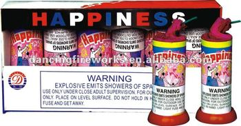 HAPPINESS FIREWORKS FOUNTAINS