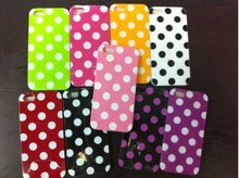 Fashion polka dots design PC case covers for IPhone5