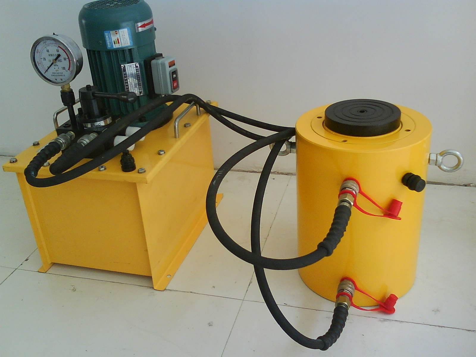 Low Price Small Hydraulic Hand Operated Manual Oil Pump SYB-1