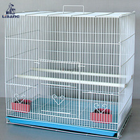 Wholesale Folding Metal Parrot Breeding Cage Bird Cages For Parakeets