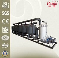 Industrial automatic water filter for washing machine