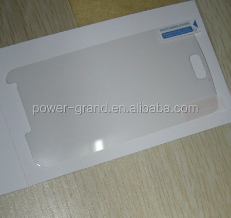 Super clear/Mirror PET Screen protector guard film for Samsung Galaxy S2 HD LTE 4G GT-i9210