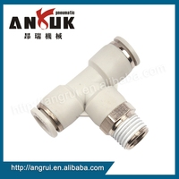 Factory price quick pneumatic air hose fittings, Male Connector Straight fitting