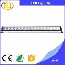 288w rgb led light bar led light bar 4x4 led light bar off road for car