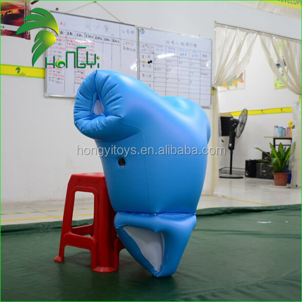 Fashion Design Double Layer PVC0.4mm Inflatable Diaper Onesie/Inflatable Nappy Model For Advertising