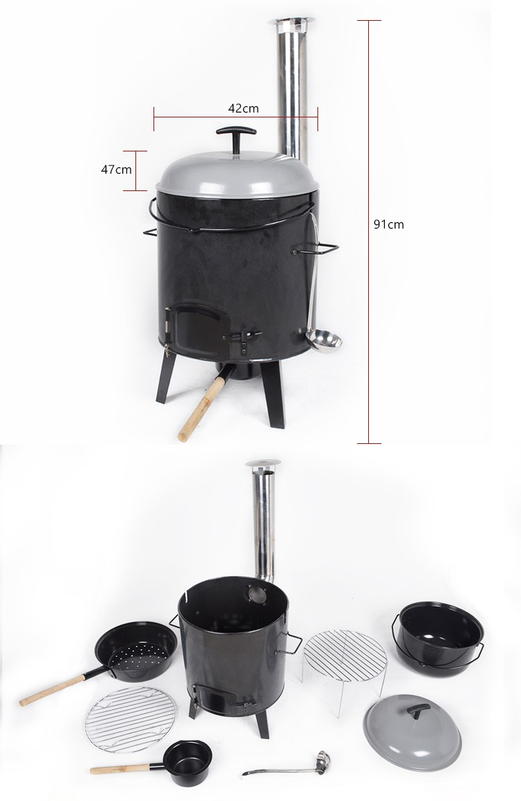 nice excellent quality grill barbecue industrial Trolley bbq grills