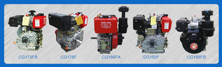 cg192f water cooled single cylinder diesel engine in china s178fs 1800rpm