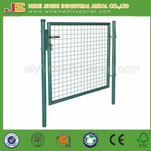 metal green color outdoor iron gates