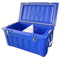 80L Rotomolded Cooler Box insulated Ice Chest(marine and fishing cooler)
