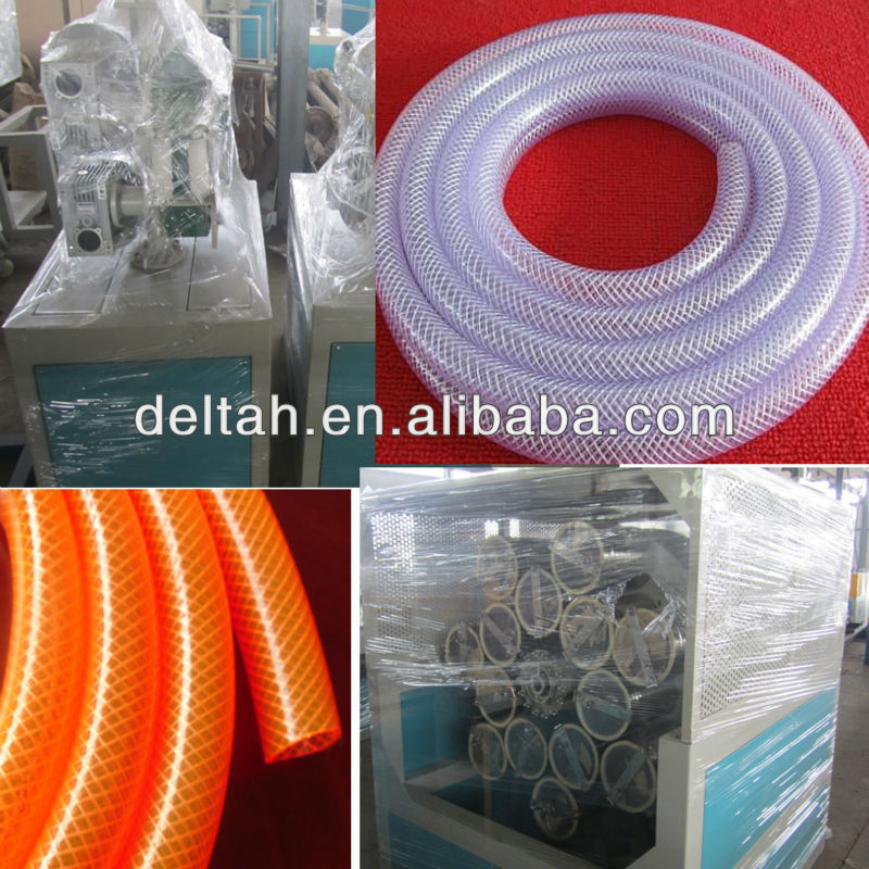 pvc garden hose production line PVC fiber pipe making machine