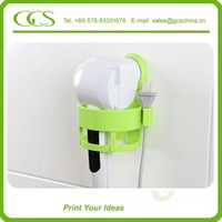 acylic hair dryer holder high quality wall mounted hair dryer double sided styling station