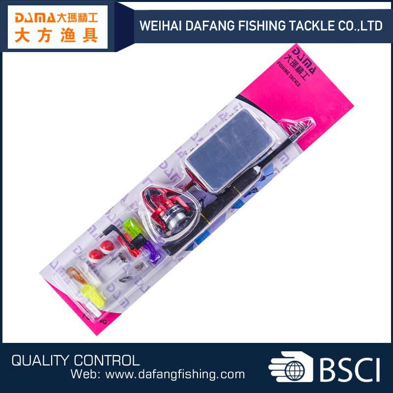 DF103 hot sale telescopic fishing rod carbon