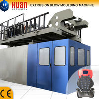 HDPE plastic seat extrusion blowing machine
