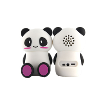 PVC Custom Panda Shape Creative Home Car Mini <strong>Speaker</strong> <strong>Portable</strong> Wireless <strong>Speaker</strong>