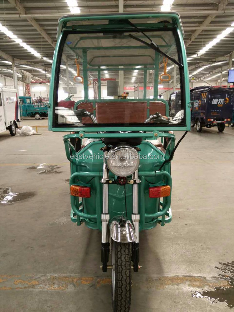 Rickshaw Driving Type battery powerful passenger vehicle tuk tuk For three wheeler