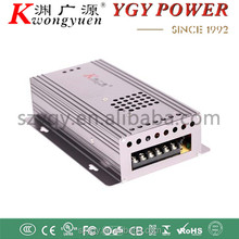 AC100v-240v to DC 12V 30A Metal Box multi power adapter dustproof heat dissipation PTC fuse