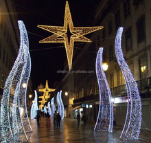 led star light arch decoration ramadan eid decoration for shopping mall