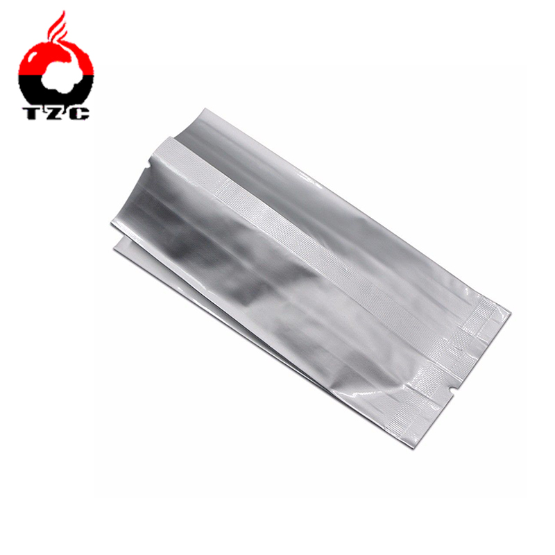 Side Gusset Bag Silver plastic to pack matcha tea powder