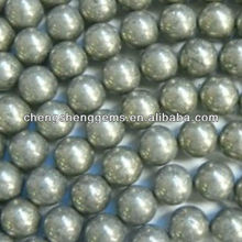 6mm round A grade loose pyrite beads for sale