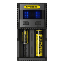 2016 New arrival Nitecore SC2 battery charger 5A total output IMR battery restoration Nitecore SC2 charger 18650 battery charger