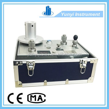 DK Portable Piston Dead Weight Tester