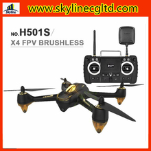 5.8g Brushless FPV RC gps drone headless and one key return rc quadcopter Hubsan X4 H501S vs H502S