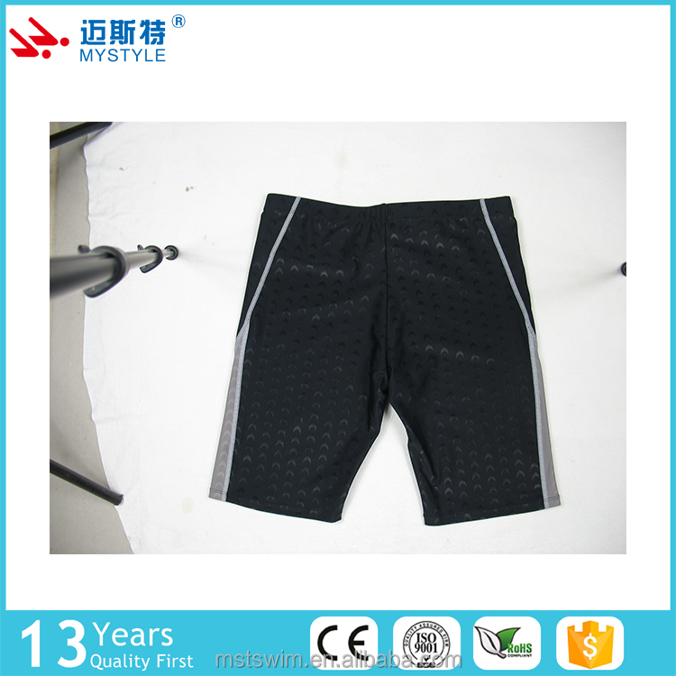 Practical new design custom men 100% polyester swim shorts