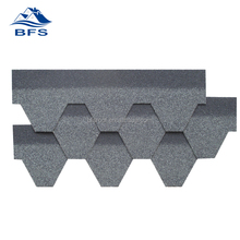 Durable Color Customized flat soundproof Free Samples hexagonal roofing tiles