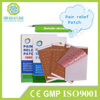 direct factory Body pain relief patch/back pain plaster/medicated pain relieving capcium plaster