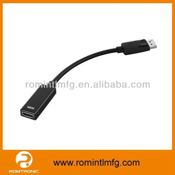 High resolution and high speed display port cable