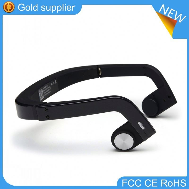 Newest arrived amplifier bone conduction bluetooth headset hearing aid bluetooth earphone