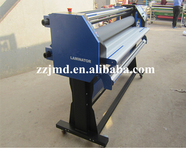 Large diameter silicon rollers cold laminating machine for sale