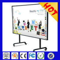 Gaoke new model for sale 78 inch portable usb interactive whiteboard