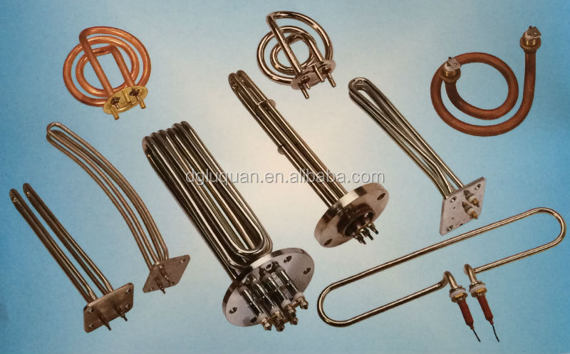 brass tube heater for electric teapot