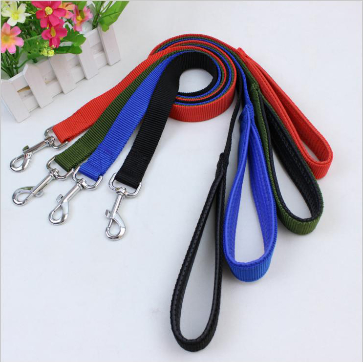 Pet Supplies Best Selling Wholesale Nylon Material Custom Dog Leash Lead with Padded Handle