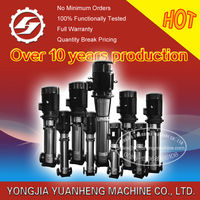 stainless steel multistage pump/multistage centrifugal pump/centrifugal water pump