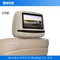 7 Inch screen DVD entertainment system car headrest dvd player