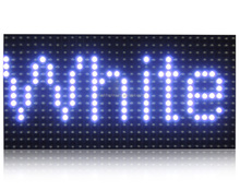 P10 outdoor LED moving sign P10 single color 1y 1b 1w 1g 1r 320*160 led outdoor display module