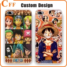 Cute Cartoon One Piece Luffy Phone Case For Apple Iphone SE 5 5S 6 6S 7 Plus Transparent TPU Phone Back Cover Coque