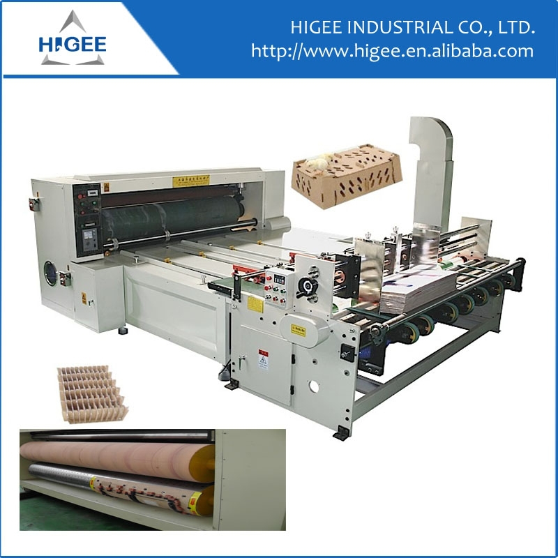 China manufacture Pizza box corrugated cardboard cartons rotary slotter machine