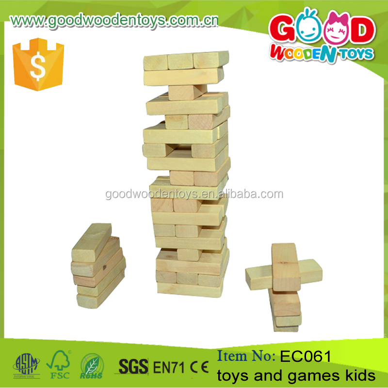 Hot Sale Natual Wooden Building Blocks Child Toys and Game Kids