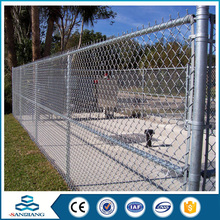 China anping supply 9 gauge chain link fence for sale factory
