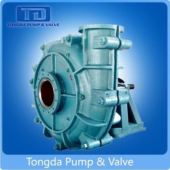 Alibaba Mining Usage Anti-Corrosion Single Stage Centrifugal Horizontal Slurry Pump Manufacturer