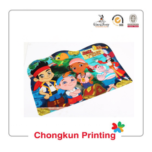 High quality full color printing kids plastic Eco-Friendly placemat