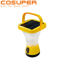 portable rechargeable outdoor solar hand lamp lantern